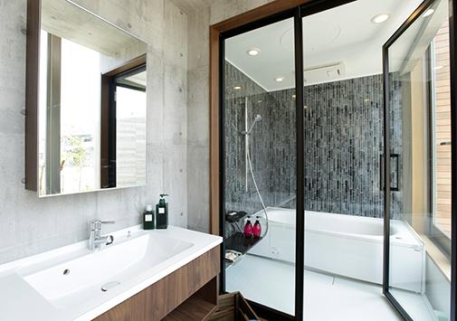 Bathroom & Dressingroom